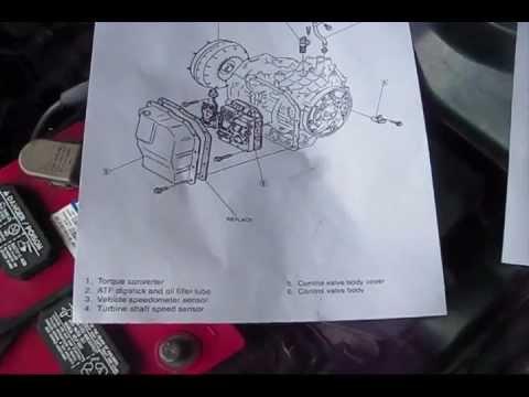 Mazda 626 Vehicle Speed Sensor Location Removal part 2