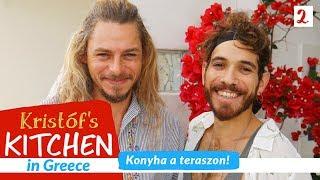Gambar cover Konyha a teraszon - Kristóf's Kitchen in Greece - vegán gasztroműsor - 2. rész
