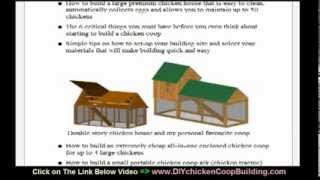 ★ How To Build Backyard Chicken Coop Plans And Designs - Diy