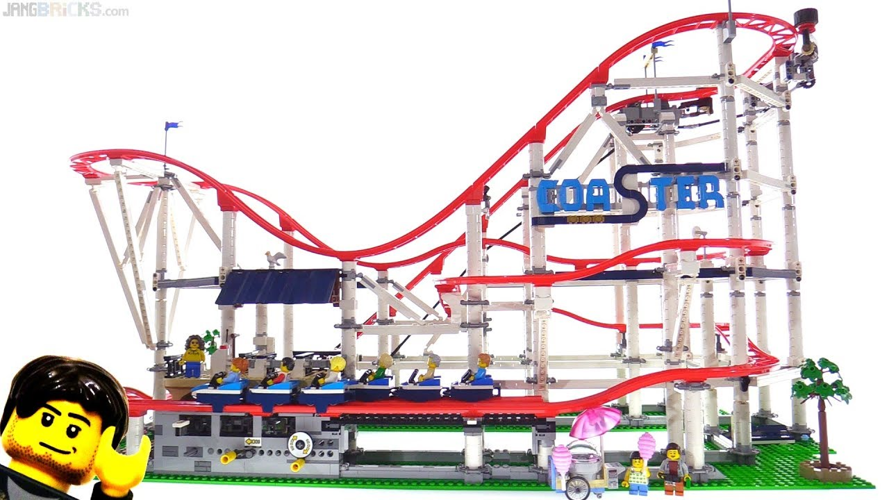 LEGO Creator Roller Coaster Review, motor power & size ...