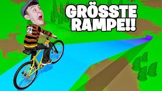 DIESE RAMPE IST UNSCHAFFBAR! - Fahrrad Simulator