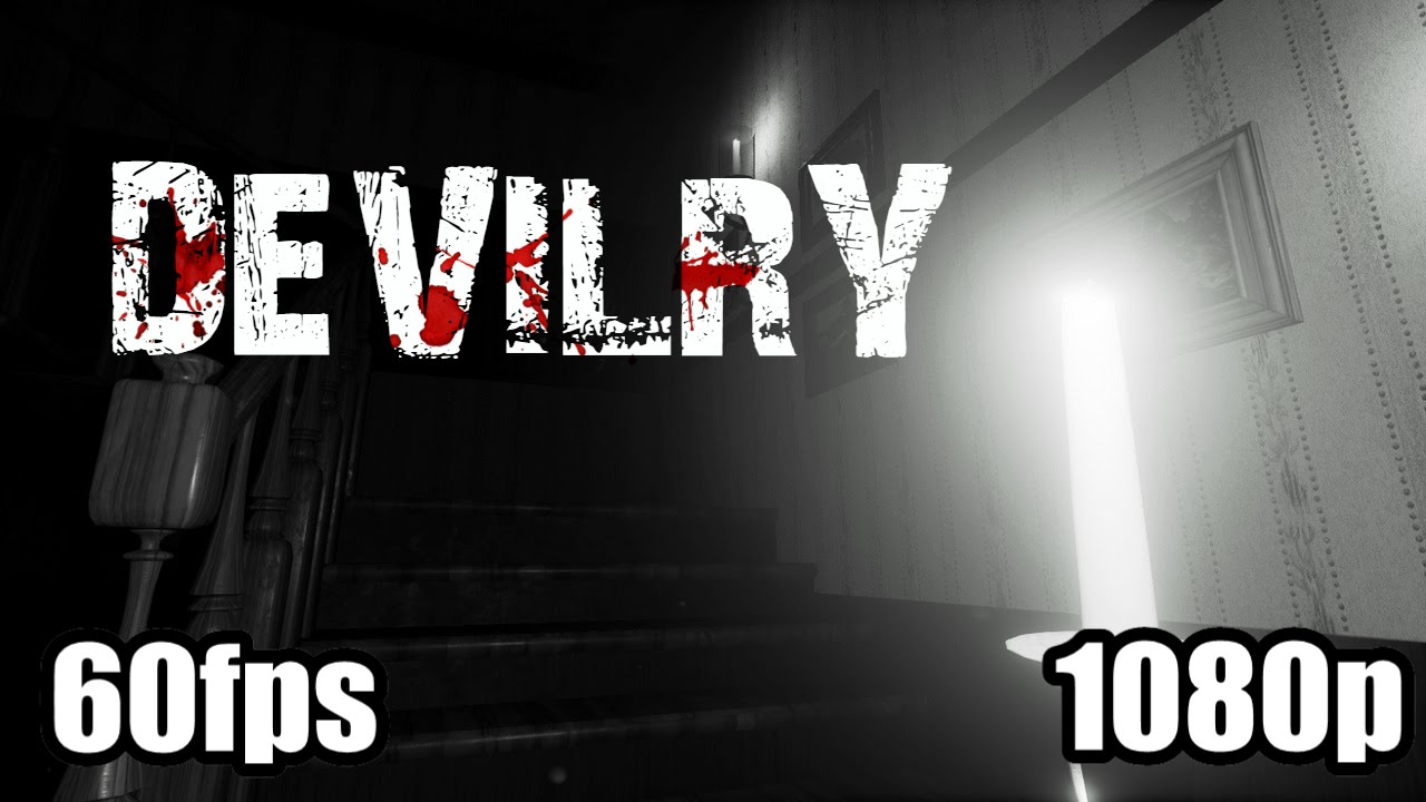 Devilry Gameplay Haunted House Simulator Horror Indie Pc Game 1080p 60fps