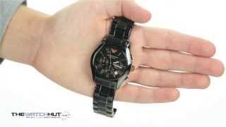 Emporio Armani Ceramica Chronograph Watch AR1410