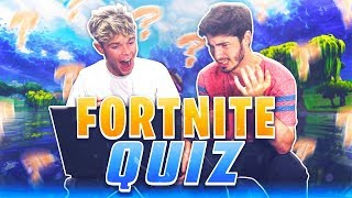 CAN YOU BEAT THIS FORTNITE QUIZ?!?
