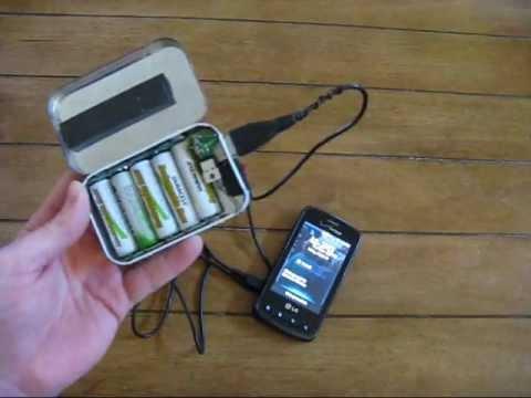 Altoids Tin Phone Charger