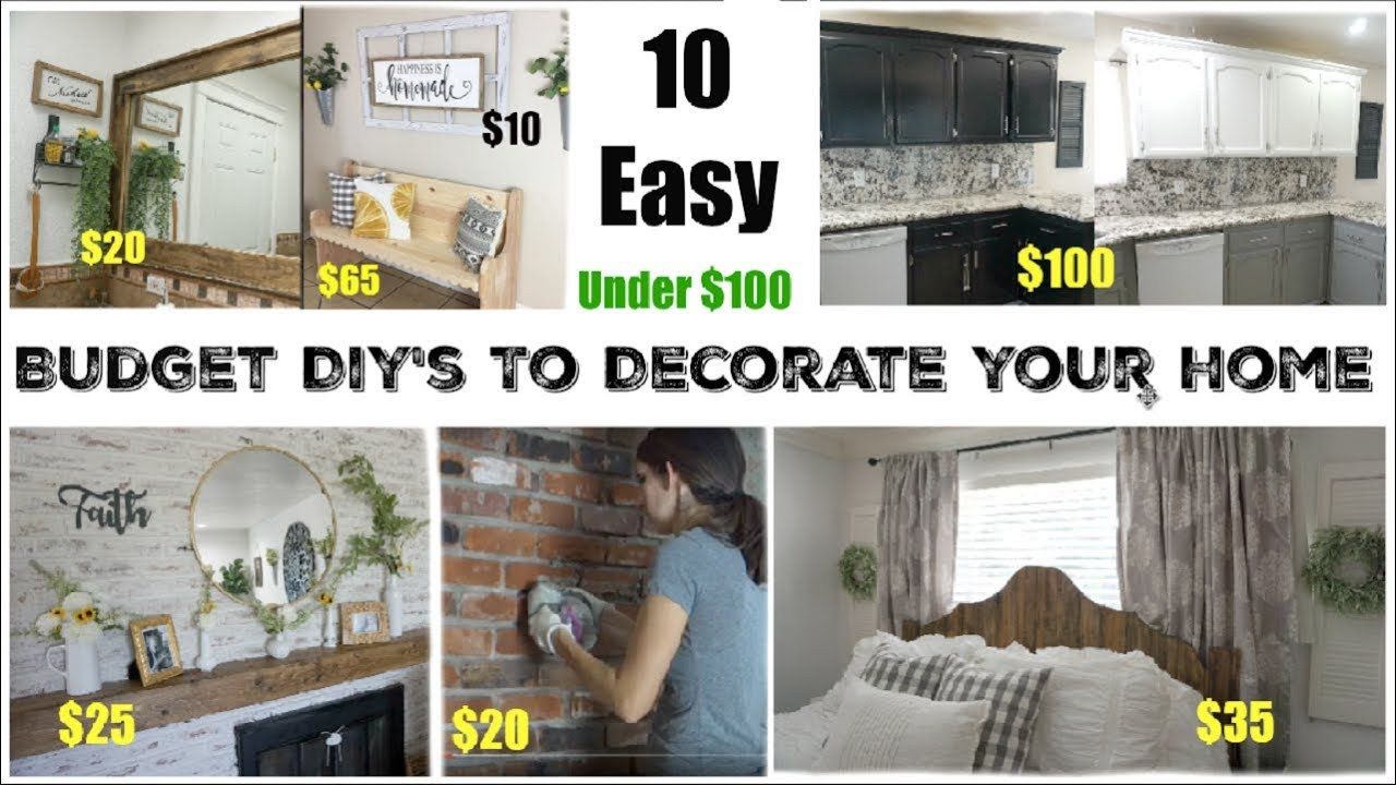 Easy Home Decor Projects