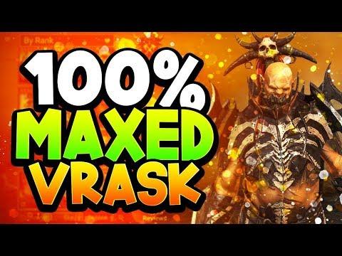 Raid Shadow Legends: Vrask Guide, Build & Masteries (Elite Healer!)