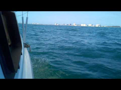 Sailing offshore of Sarasota, Fl on Leap Day 2012