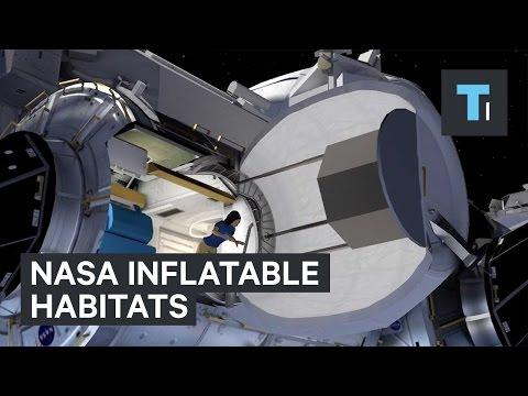 NASA inflatable habitats