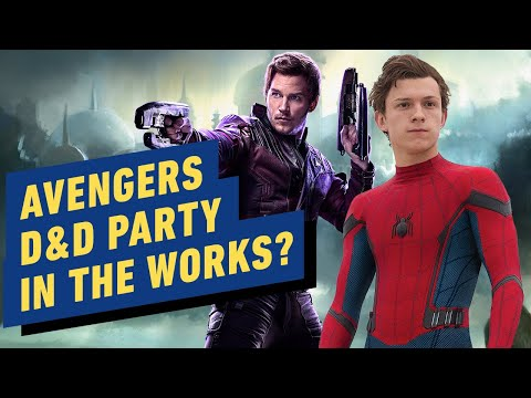 Chris Pratt and Tom Holland Want to Start an Avengers Cast Dungeons and Dragons Party