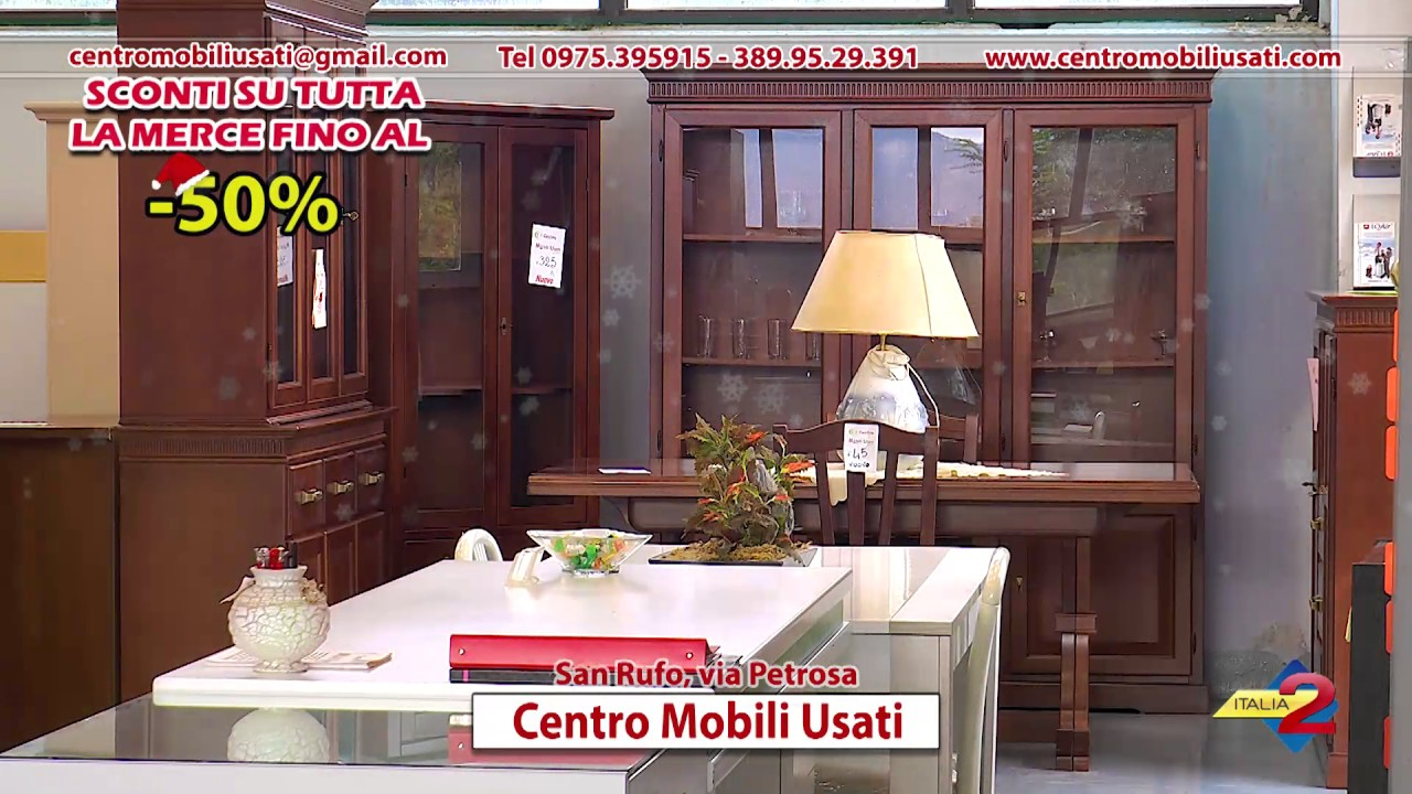 Mobili In Saldi.Spot Centro Mobili Usati San Rufo Via Petrosa Saldi Pre Natalizi Nov 2016