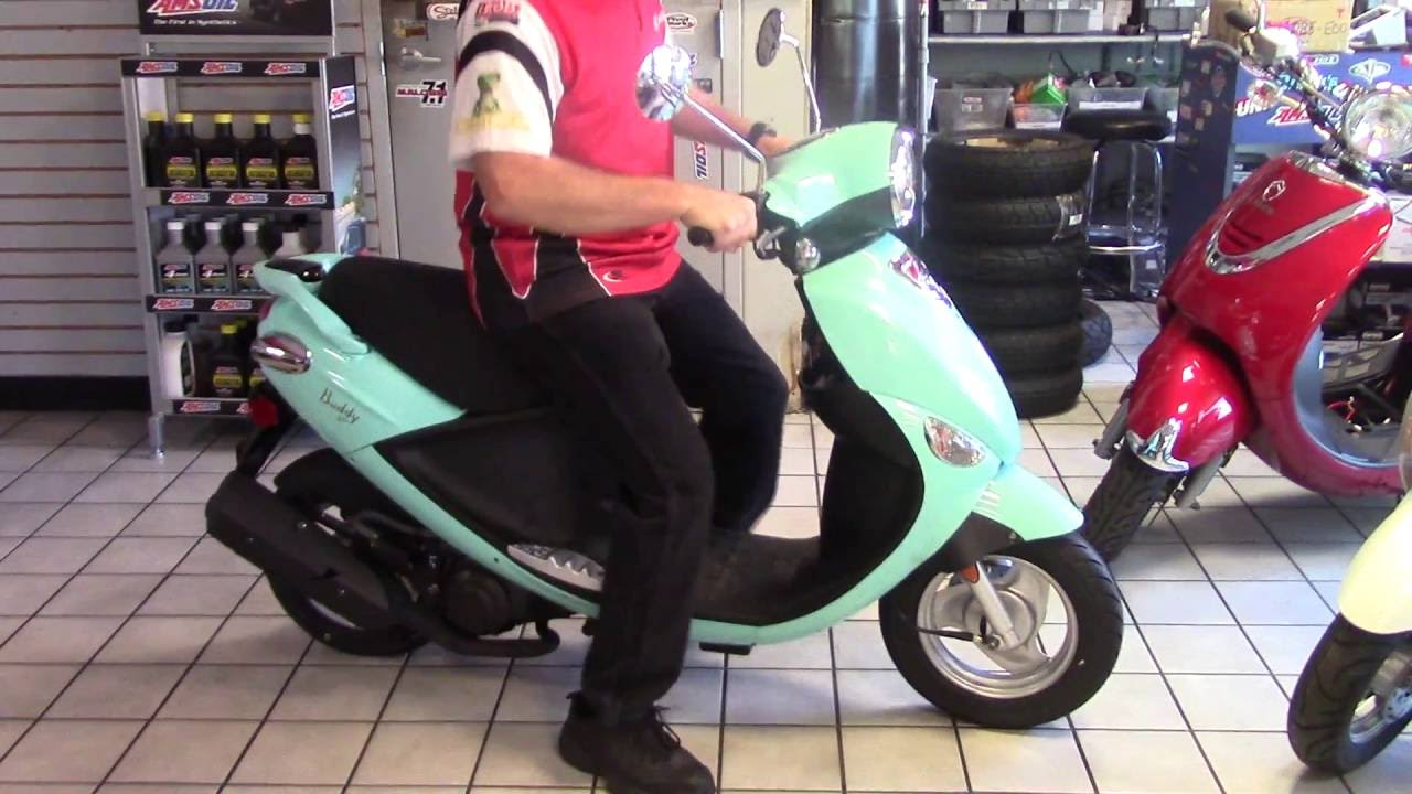 2016 Genuine Buddy 50 Scooter Review - YouTube on boss 50 wiring diagram, buddy scooter wiring diagram, buddy 125 wiring diagram, buddy 50 engine diagram,