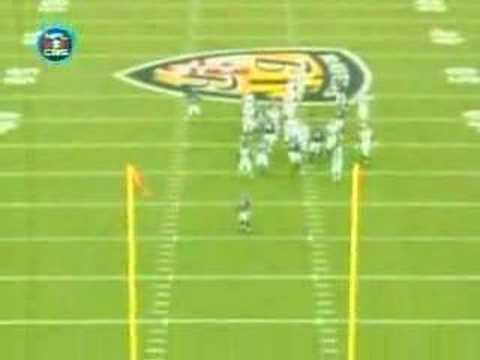 Browns Field Goal:  Stover Clip