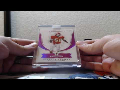 2018 Panini Flawless Football 1 Box Half Case Break 5-24-2019 (HUGE ENCASED PATCH AUTO!)