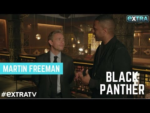 Martin Freeman Dishes on his 'Black Panther' Action s