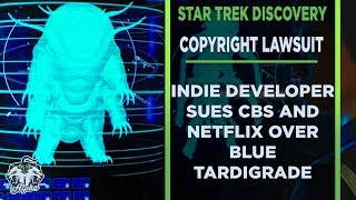 CBS And Netflix Sued For Copyright Infringement over Star Trek Discovery Blue Tardigrade thumbnail