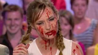 Louise Bourgoin en sang !!!!