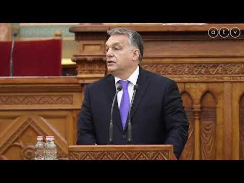 """Orbán Viktor a """"rabszolgatörvényről"""" (hangfelvétel 2018.12.11)"""