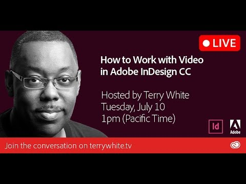 How to Work with Video in Adobe InDesign CC