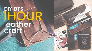 1 HOUR LEATHER CRAFTING VIDEO