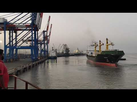Container vessel completed and tug rope selling  (KANDLA PORT)