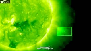 Most of UFOs activity near the Sun July 12, 2012.
