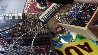 DIY MODULAR SYNTH JAM