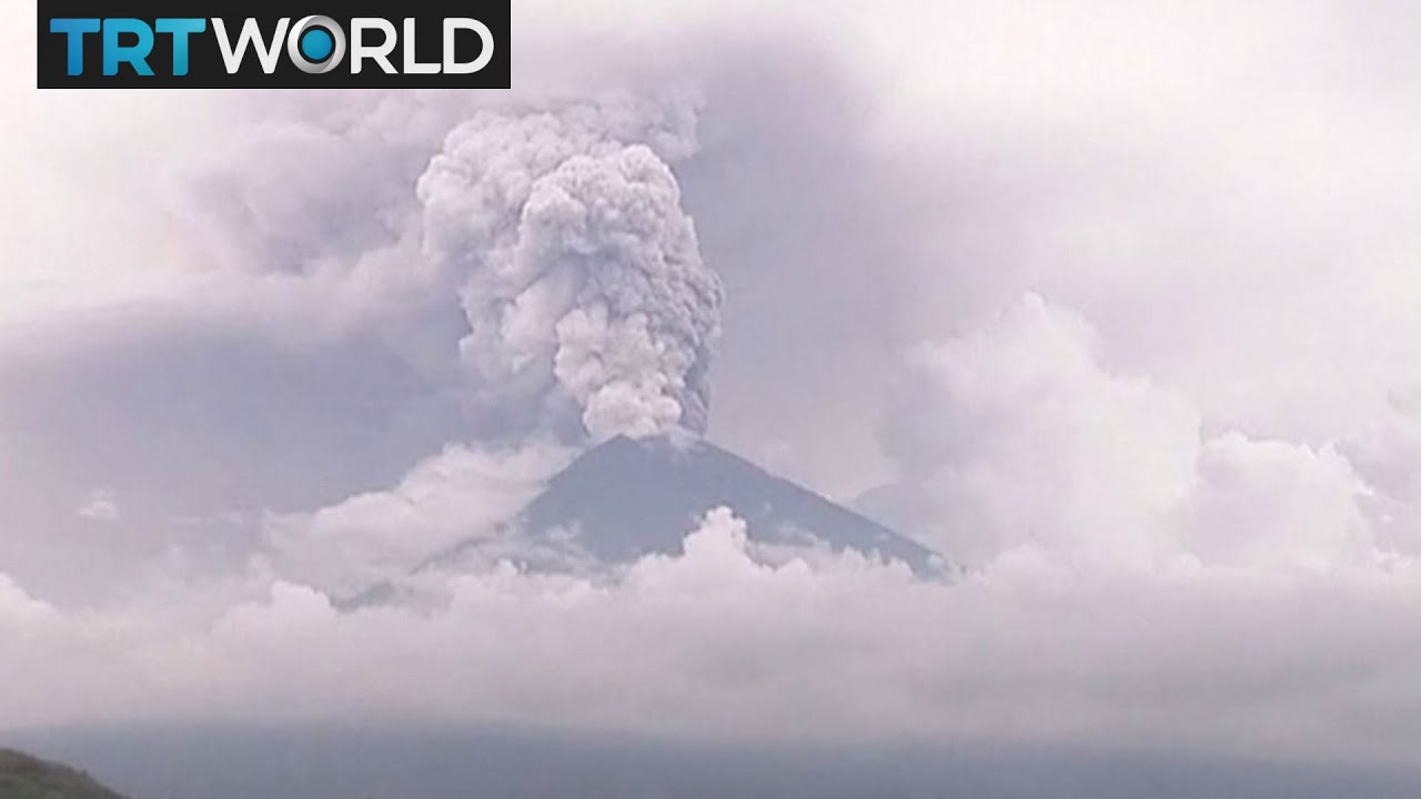 Bali Volcano Major Eruption Could Happen At Anytime Youtube