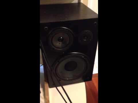 Yamaha NS-A635A Bookshelf Speakers