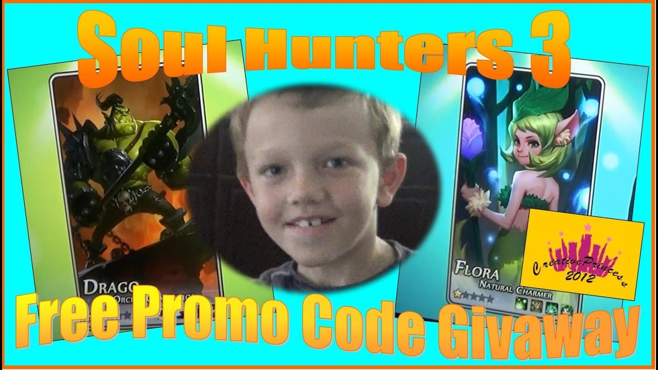 New Soul Hunters 3 | Win FREE Promo Code - Creative Princess