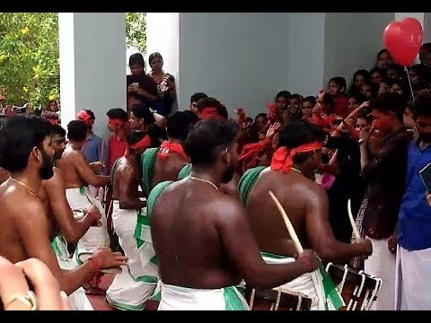 College Girls Rocking Dance | Chenda Melam...
