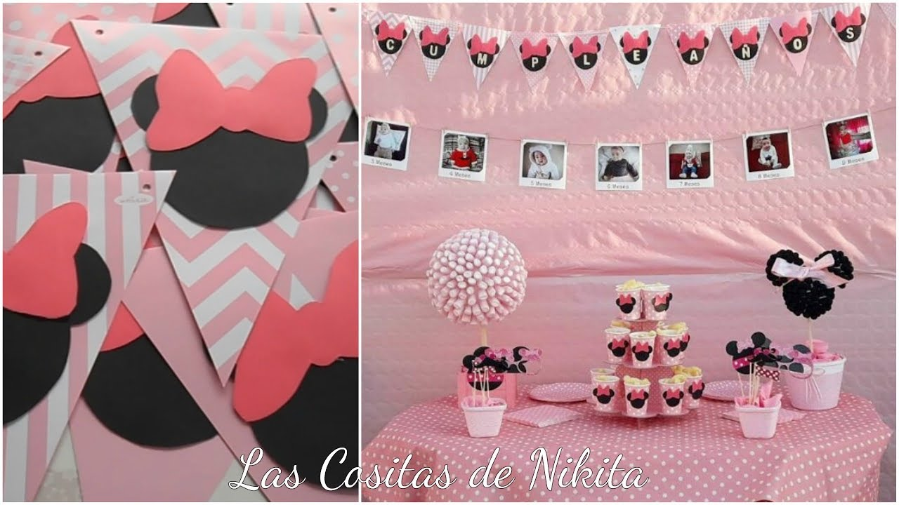 Diy fiesta de cumplea os minnie decoracion for Diy decoracion cumpleanos