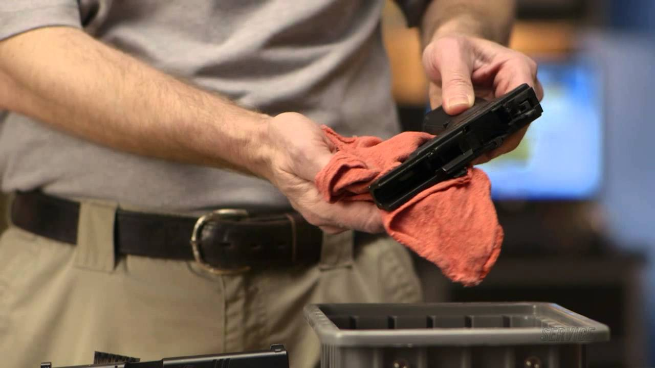 how to clean a firearm youtube