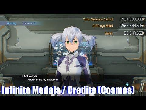 Sword Art Online Fatal Bullet - Infinite Medals & Money (EAC