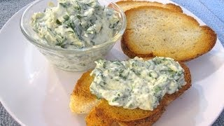 Spinach And Artichoke Dip - Spread For Toasted French Bread Or Tortilla Chip Dip - Poormansgourmet