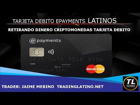 RETIRANDO DINERO DE CRIPTOMONEDAS CON TARJETA DEBITO 2018 PARA LATINOS   BITCOIN V23