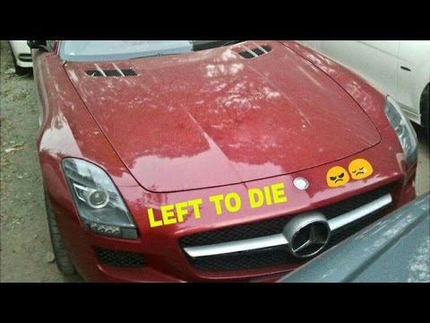20 ABANDONED Exotic cars in INDIA
