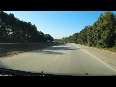 "North Carolina State Highway Patrol ""SHP-133"" running 80+ for 22 miles (at least)"