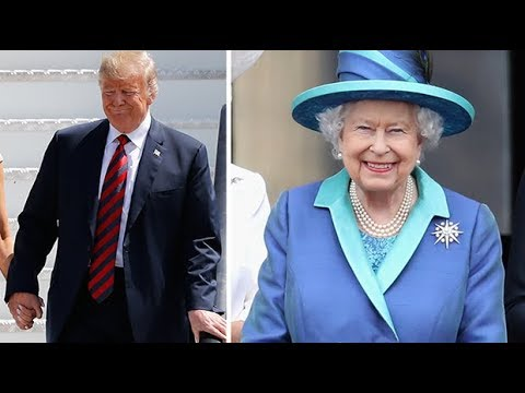 The protocols for US Presidents meeting The Queen