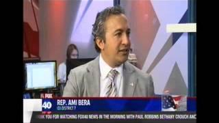 Rep. Bera interview on KTXL Fox 40