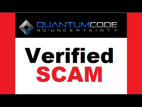 The Quantum Code Software is a SCAM!! Informative Trading REVIEW!