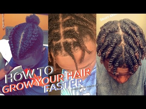 HOW TO GROW YOUR HAIR FASTER + Frequently Asked Questions
