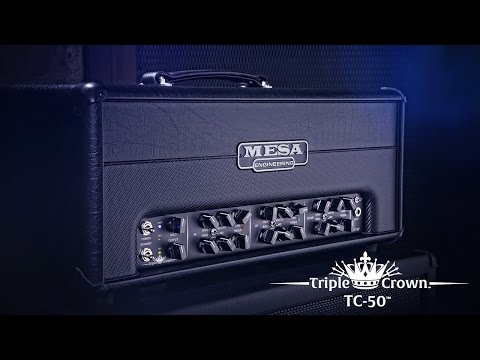 MESA/Boogie Triple Crown TC-50 Official Demo