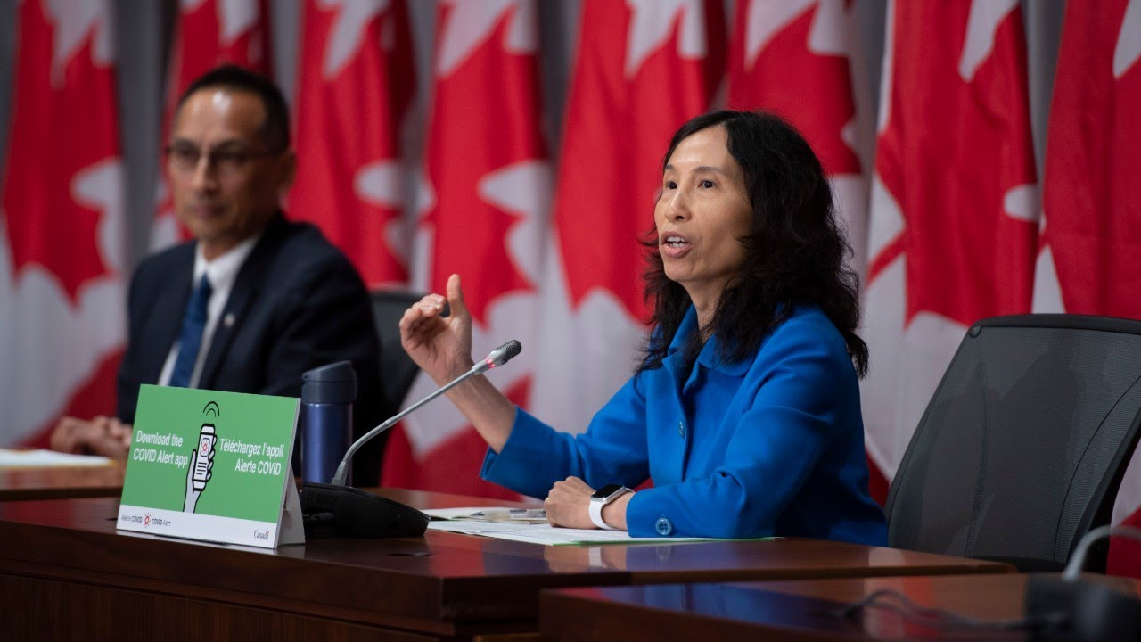 COVID-19 update: Ministers and public health officials address Canadians