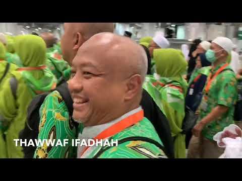 Thawaf Ifadhah Jema'ah Haji Khusus VIP GSM 2019
