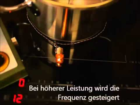 Induktionsherd Im Experiment 1 Youtube