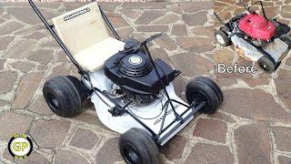 Make a Gokart with Lawn Mower - Diy Toys