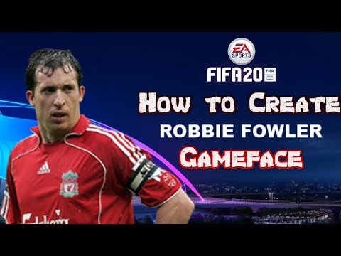 FIFA 20 - How To Create Robbie Fowler - Pro Clubs