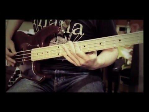 Silent Siren 八月の夜 bass cover