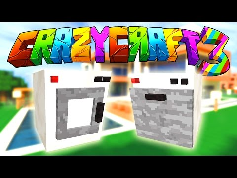 Minecraft Crazy Craft 3: Moving Day! (Furniture Mod) #16